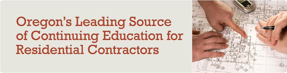 Course Preview Oregon Contractor Education