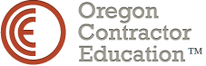 Oregon Contractor Education