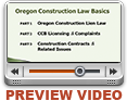 Oregon Construction Law Basics <span>3 hours &#8211; #SRA0004</span>